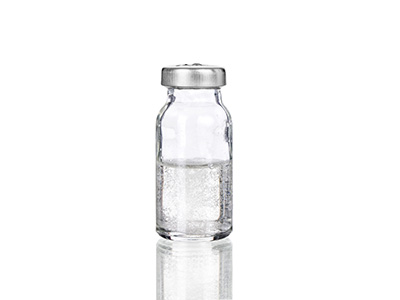 liquid vial