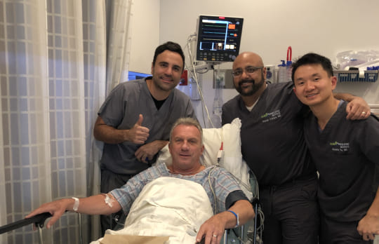 Joe Montana Undergoes High Tech Stimwave Knee Procedure In San Jose